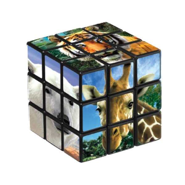 PUZZLE CUBE ANIMAL PHOTOS