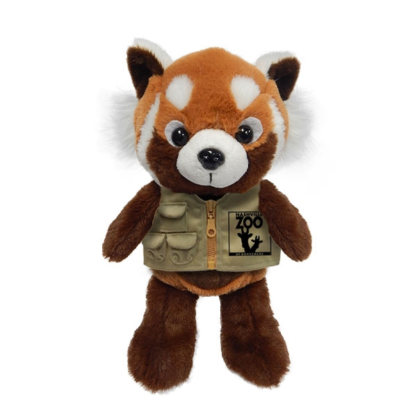RED PANDA PLUSH WITH NASHVILLE ZOO VEST