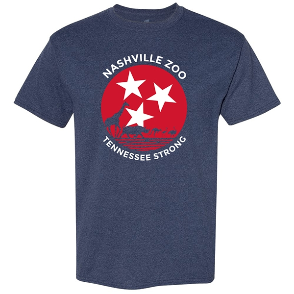 ADULT SHORT SLEEVE TEE TENNESSEE STRONG ZOO