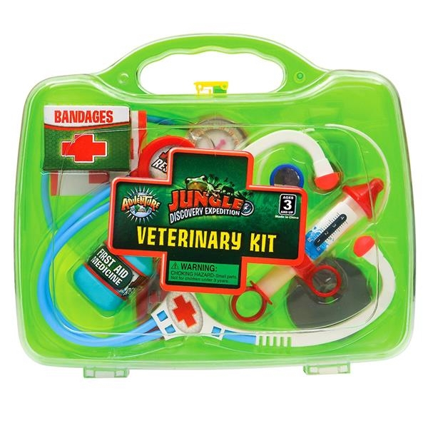 JUNGLE VETERINARY KIT - GREEN