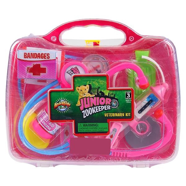 JUNGLE VETERINARY KIT - PINK