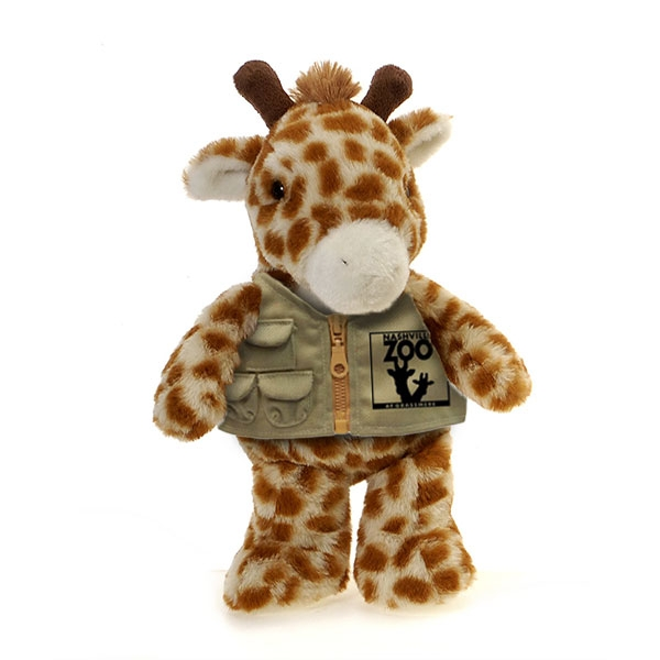 GIRAFFE PLUSH WITH NASHVILLE ZOO VEST