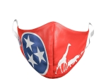 YOUTH TENNESSEE FLAG ANIMAL MASK
